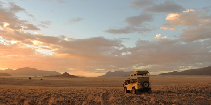 Game Drive in Namib Rand