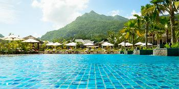 the h resort beau vallon beach image 1