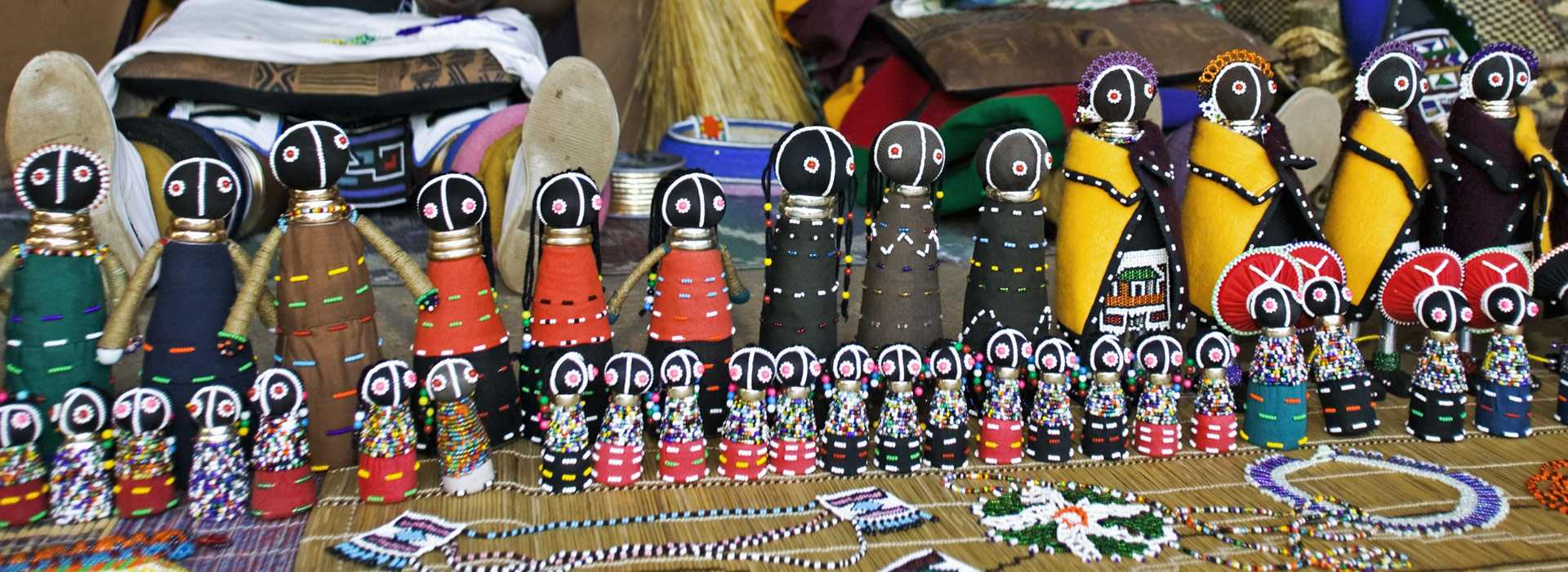 Colourful Dolls Made By Ndebele Women