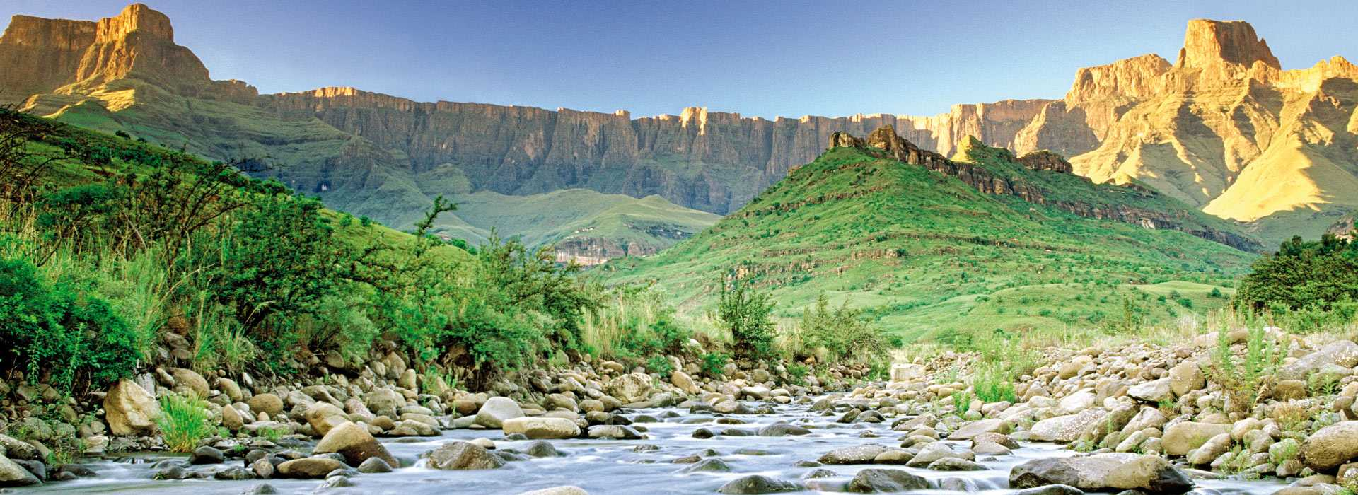 Amphitheatre And Tugela River