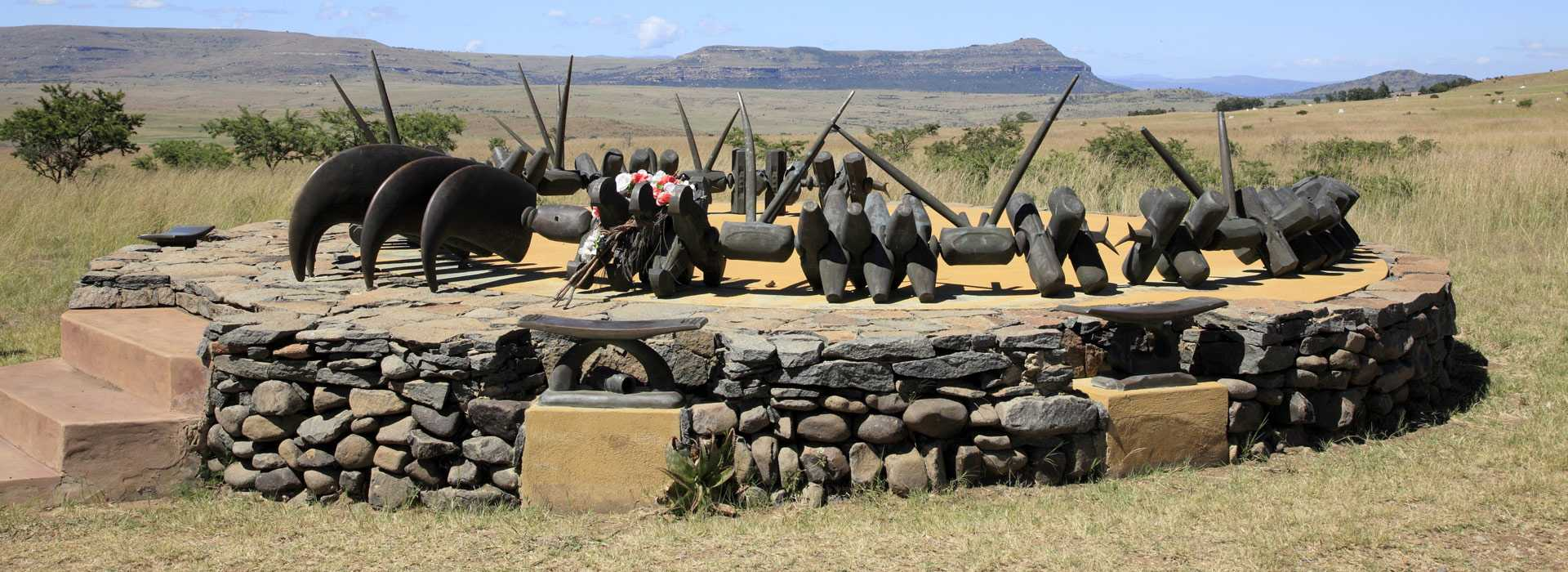 Memorial To Fallen Zulu Warriors