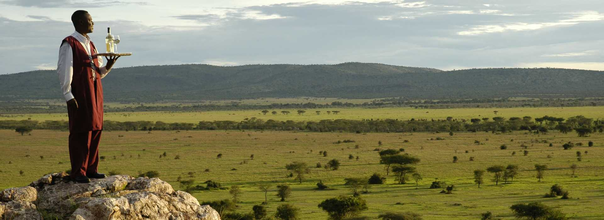 View Over The Serengeti Plains, Tanzania