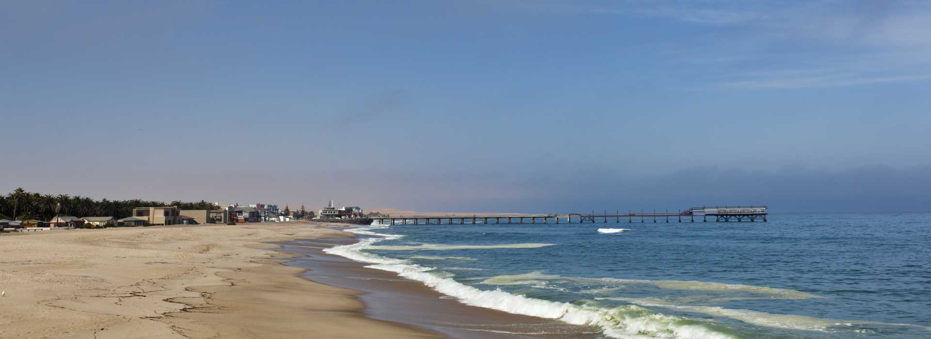 The Beach At Swakopmund, Namibia