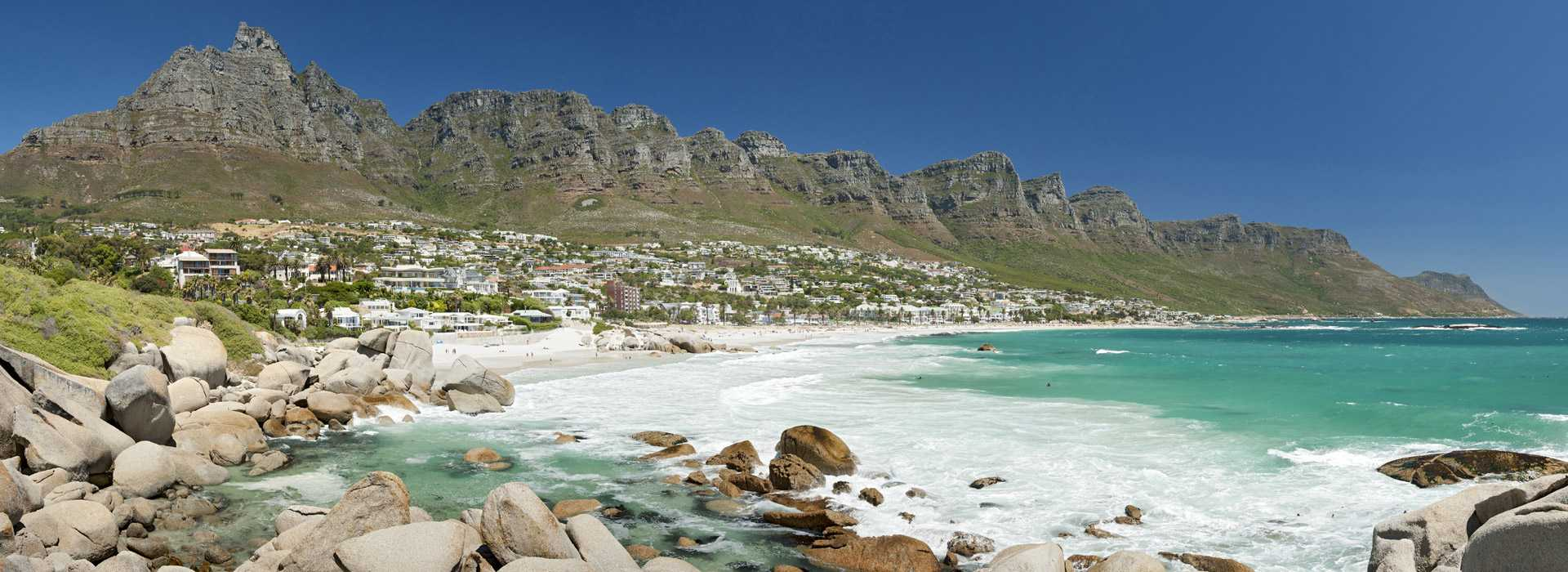 Camps Bay And Twelve Apostles Mountain Range