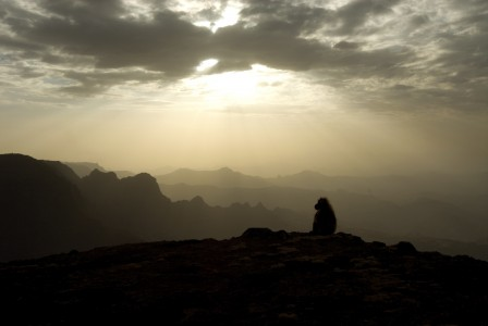 Night time in Ethiopia