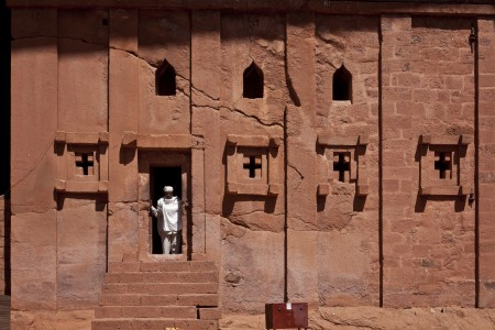 Bet Abba Libanos Church, Lalibela, Ethiopia