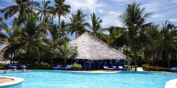 Pool at Breezes Beach Club, Zanzibar