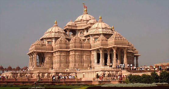 Beautiful temple in India