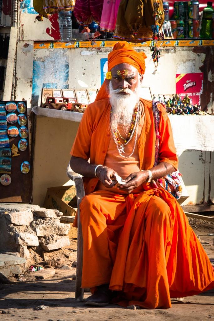 Indian holy man