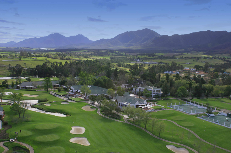 Golf course on The Garden Route, South Africa
