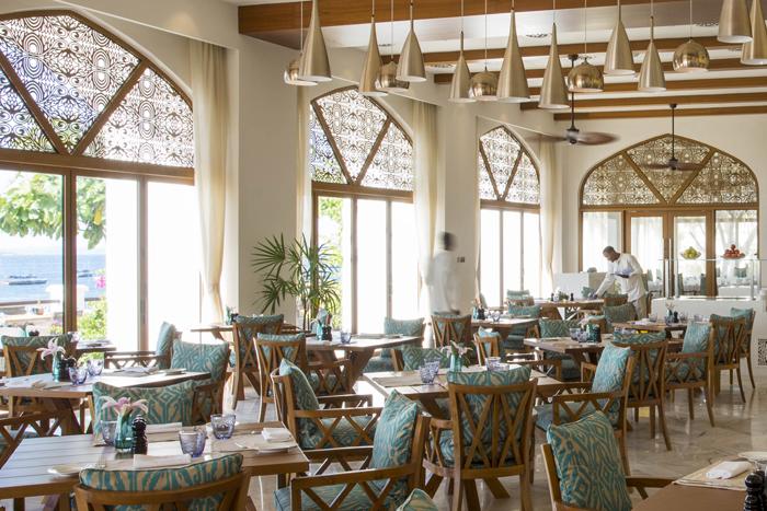 Park Hyatt restaurant, Zanzibar