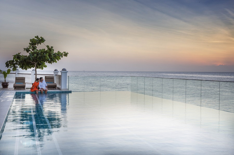 Park Hyatt swimming pool, Zanzibar