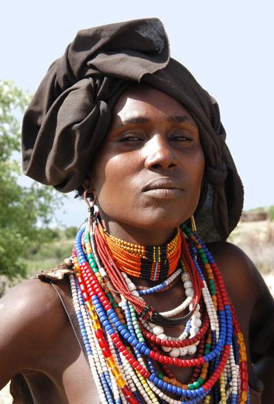 Tribeswoman in Ethiopia