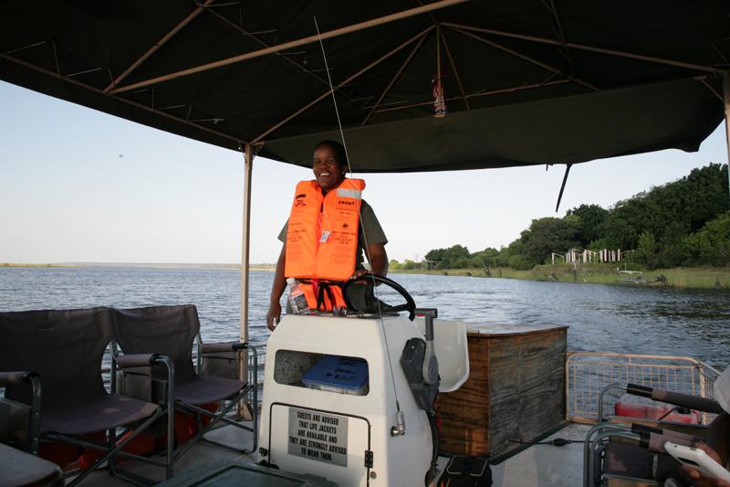 Captain of the Raft, Botswana