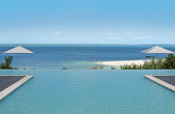Swimming pool at Kilindi, Zanzibar