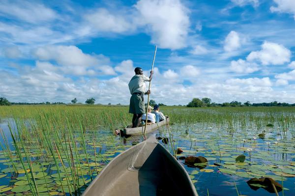 Mokoro in Botswana