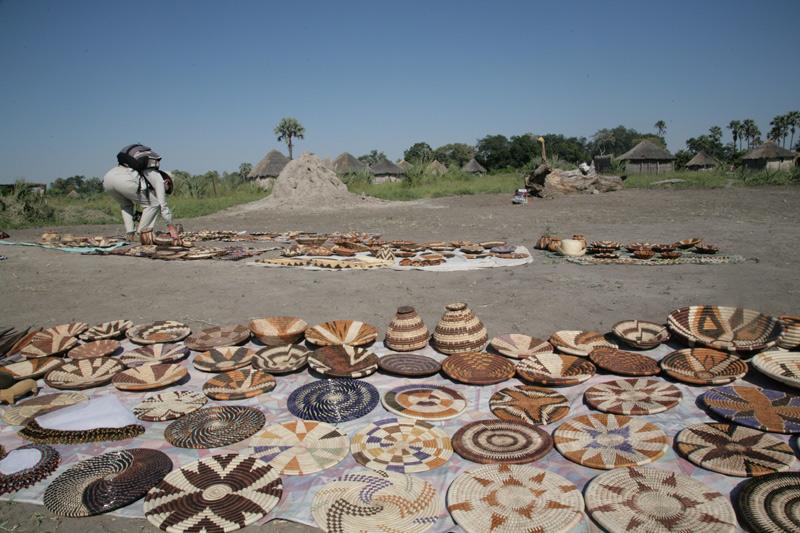 Street Market in Botswana