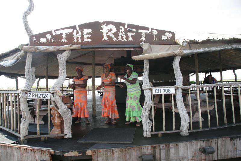 The Raft on the Chobe River, Botswana