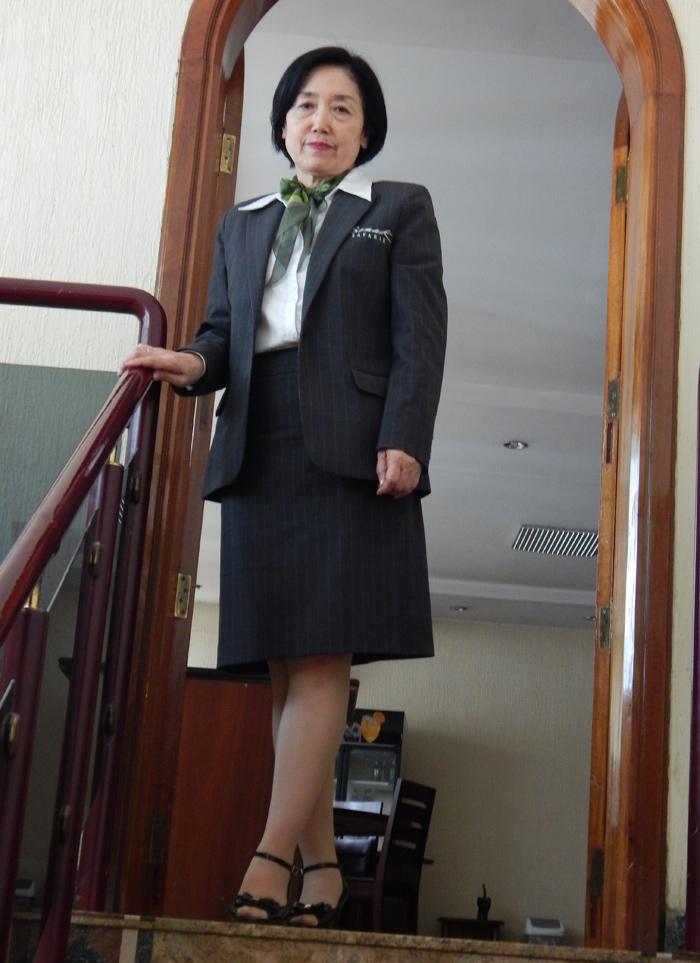 Keiko, a member of Somak staff