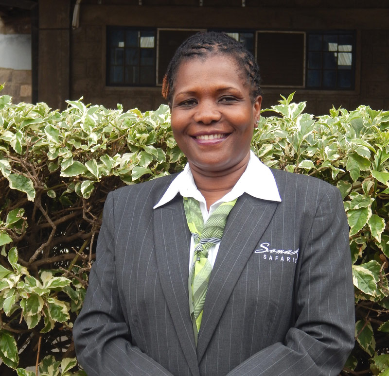Rose, a member of Somak staff
