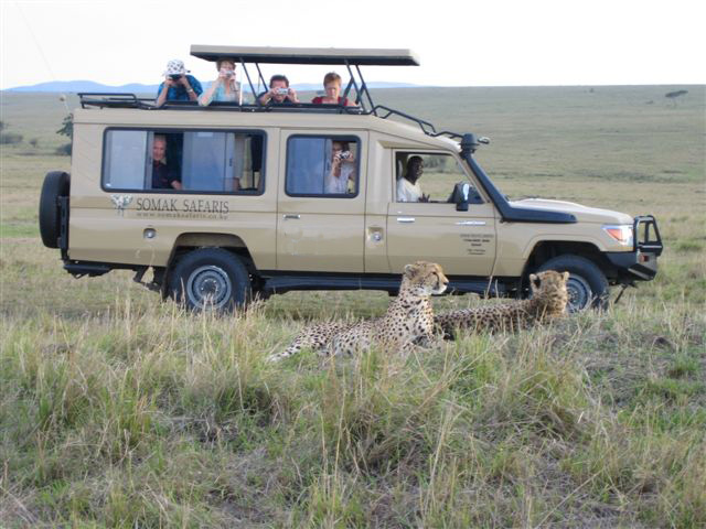 Somak 4x4with cheetahs