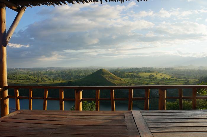 View from Kyaninga Lodge