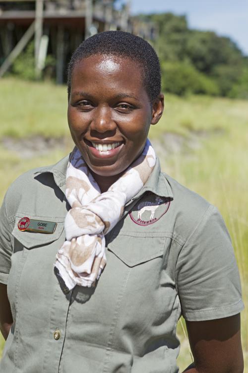 Gobe Motshidise, driver guide in Botswana
