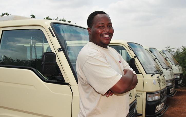 Martin Weru, Somak driver guide in Kenya