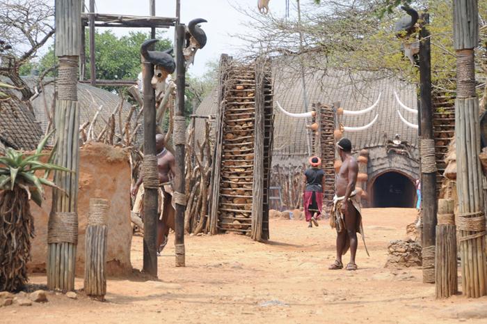 Zulu Village in South Africa