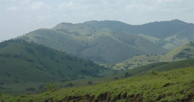 Chyulu Hills in Kenya
