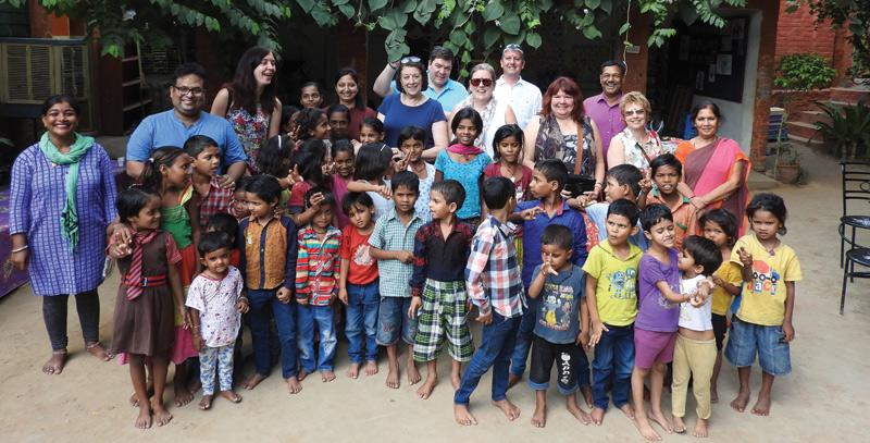 Children at the Ladli Foundation, Jaipur, India