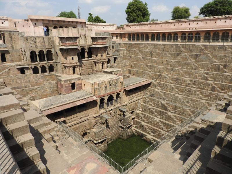 Abhaneri stepwell, Rajasthan