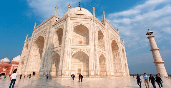 The amazing Taj Mahal