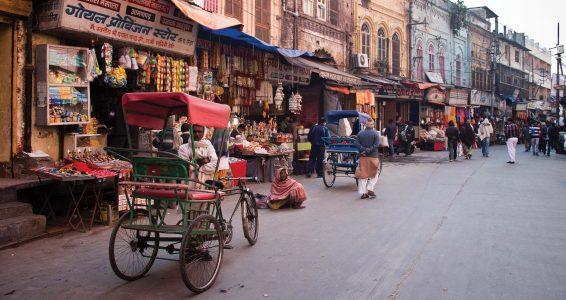 Street scene in Old Delhi