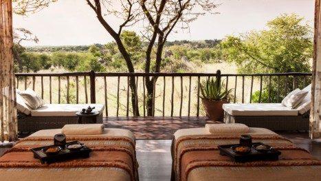 The spa at  Four Seasons Safari Lodge, Serengeti, Tanzania
