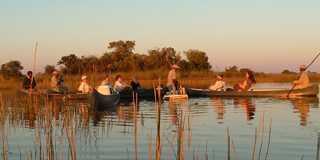 Leisurely boat ride in Botswana