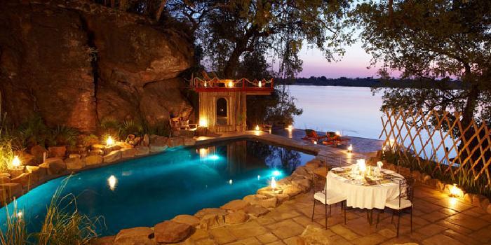 Tongabezi Lodge, Zambia