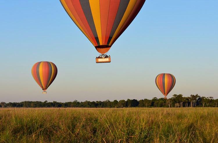Hot Air Ballon Safari in Kenya