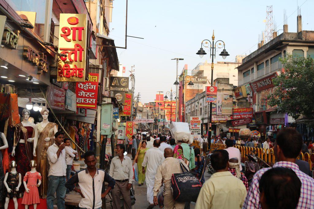 Street life in Varanasi