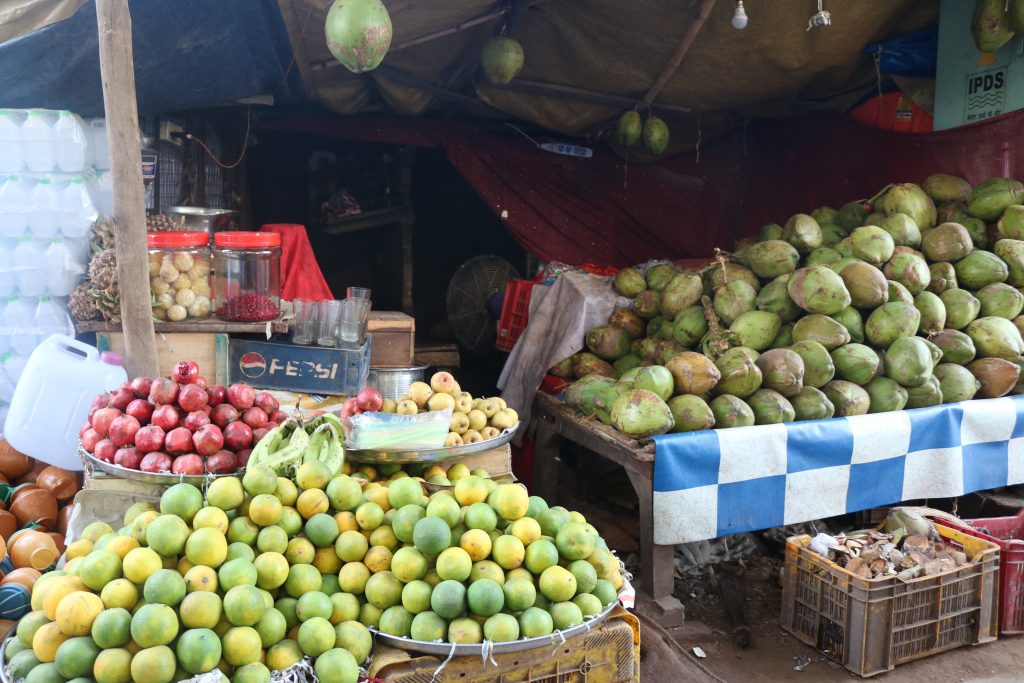 Vegetable stall in Varanasi