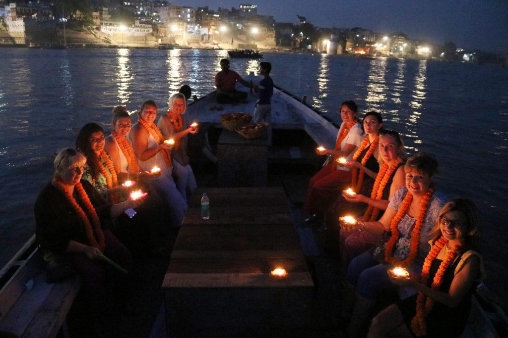 Boat ride on the River Ganges