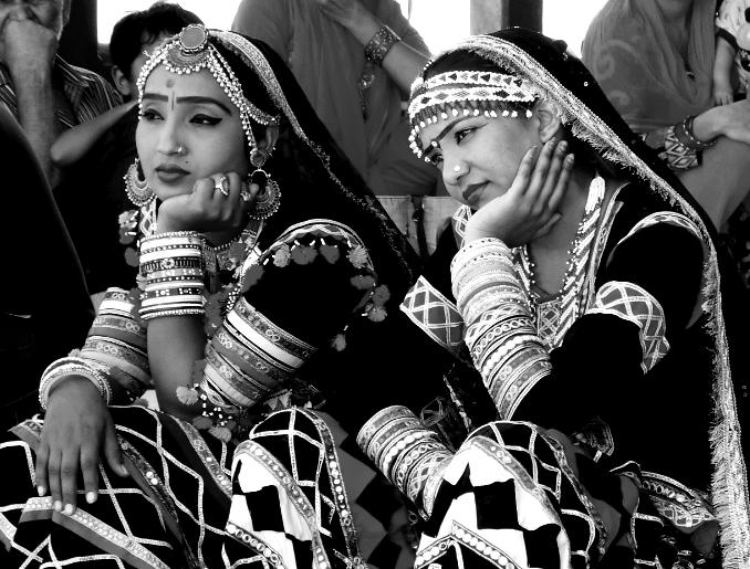 Dancers at The Amber Fort, Jaipur