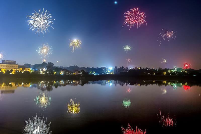Fireworks at Diwali