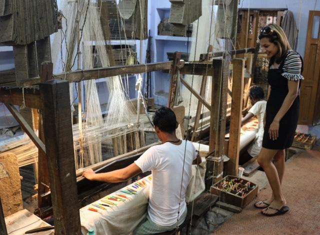 Silk weavers in Varanasi