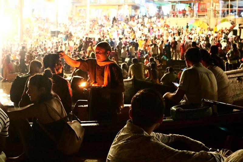 Crowd in Varanasi