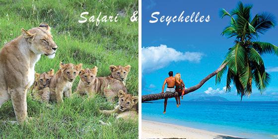 Kenya and Seychelles