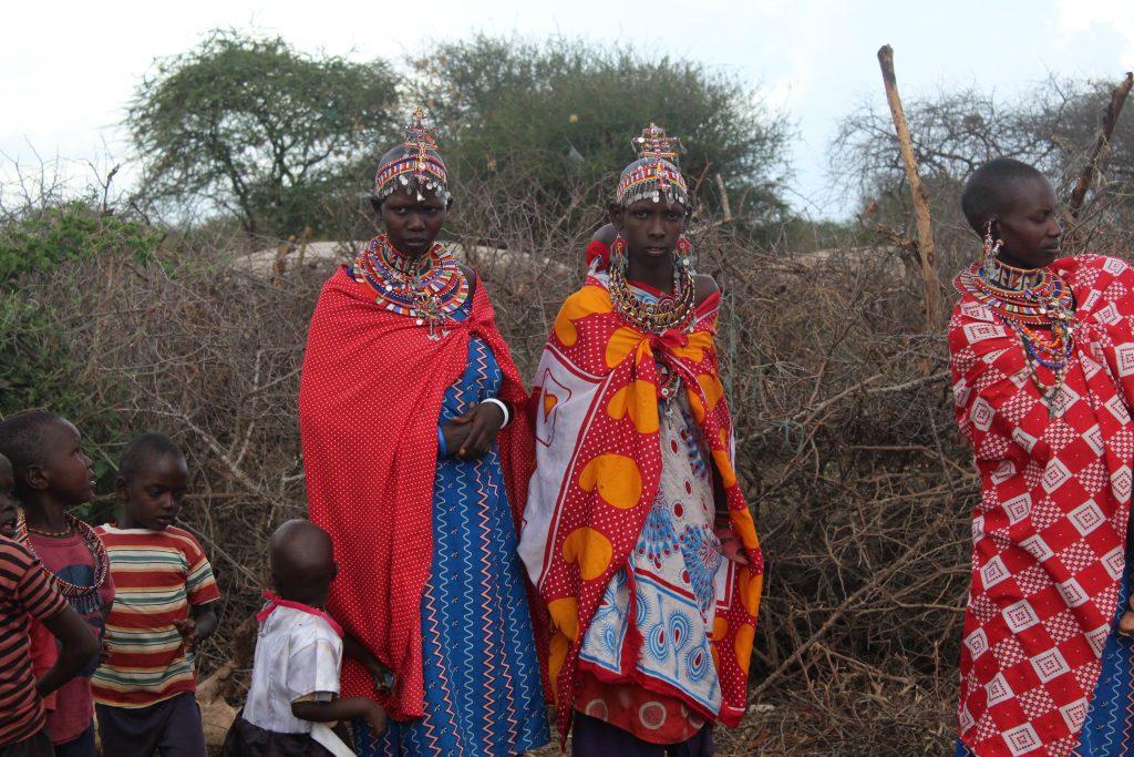 Colourful locals on a Porini Camps Safari