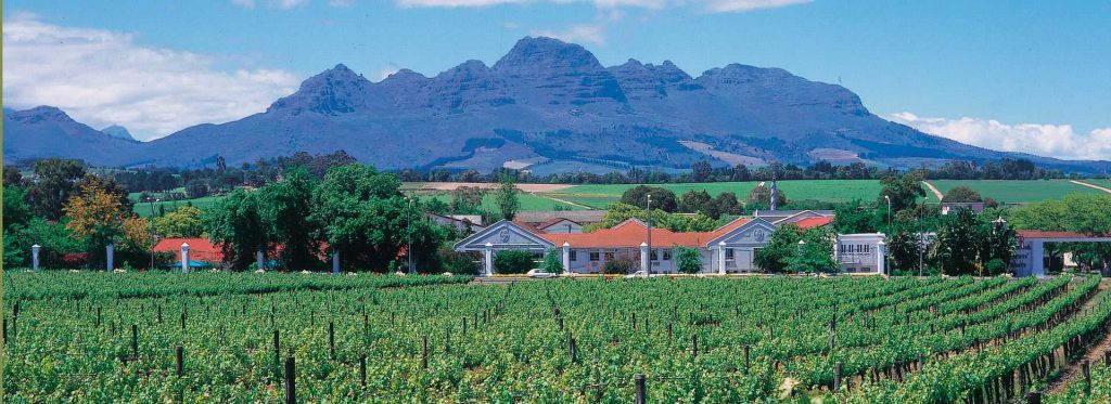 The Cape Winelands, South Africa