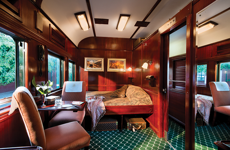Rovos Rail Deluxe Suite, South Africa