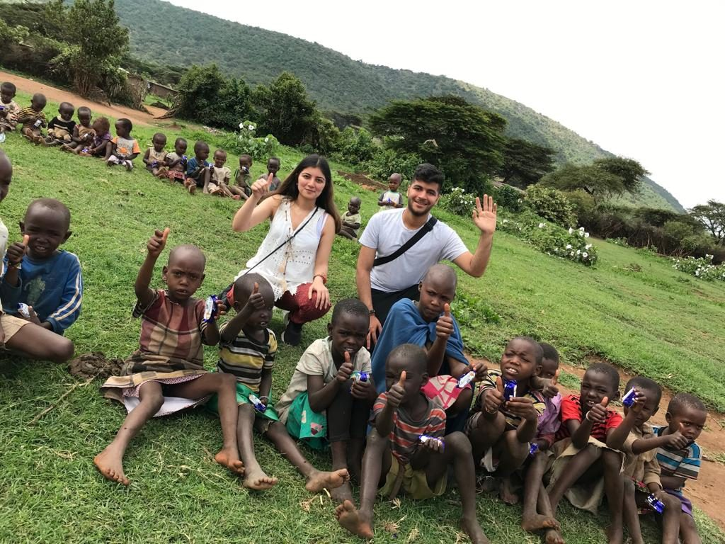 Children of the Masai Tribe